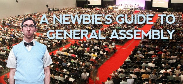 A Newbie's Guide to General Assembly
